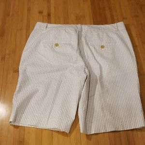 Banana Republic Shorts - Banana Republic Seersucker Shorts